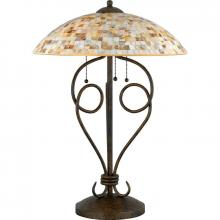 Quoizel MY6325ML - Monterey Mosaic Table Lamp