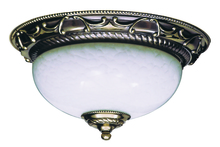 Framburg 8400 FB - 2-Light French Brass Napoleonic Flush / Semi-Flush Mount