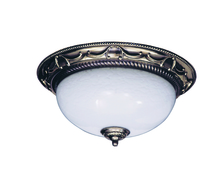Framburg 8405 FB - 2-Light French Brass Napoleonic Flush / Semi-Flush Mount